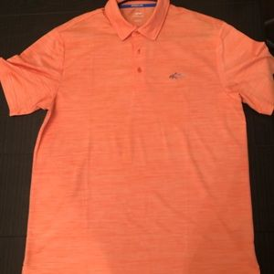 Large Coral Greg Norman Golf Polo